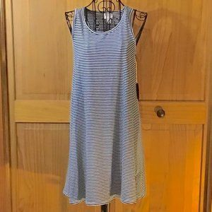 Mossimo Supply Co. ~ Striped Tank Top Dress